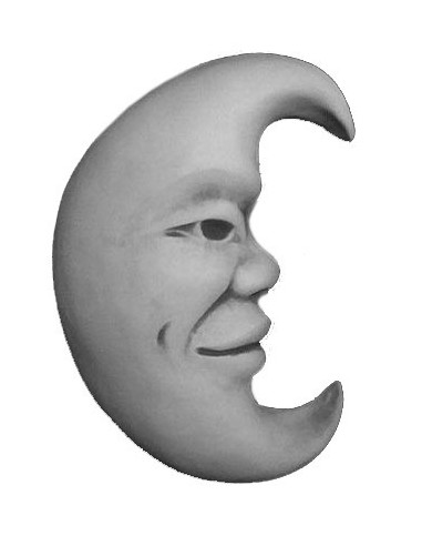 Figura betonowa Księżyc 29