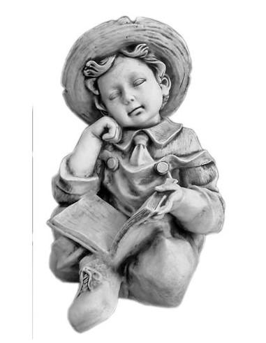 Figura betonowa Chłopiec z książką 142