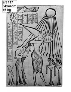 Tablica betonowa Egipcjanin