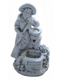 Fontanna betonowa Dziewczyna przy studni L102
