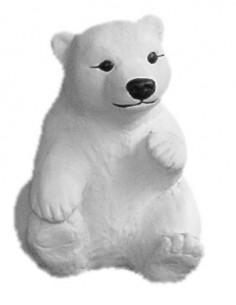 Figura betonowa Niedźwiedź Polarny Z24c